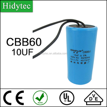 High quality fast delivery competitive price Capacitor CBB60-10UF electrical relay agent