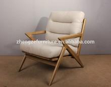 noric estilo moderno de madeira estrutura de sofá de lazer cadeira
