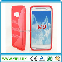 S line soft tpu case moblie phone case for HTC M9