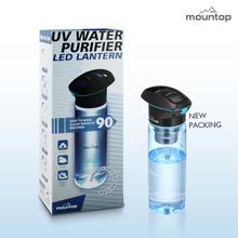 2015 New Design Foldable plastic easy to take 750ml uv everest water bottle