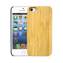NEW Natural Walnut Wood Bamboo Wooden + PC Combo Hard Cover Case for iPhone 5 5S