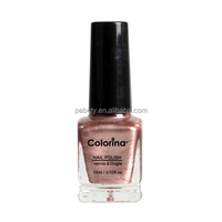 Metallic effect nail polish