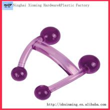 wholesale practical body plastic mini massager