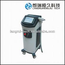 1064nm de pulso largo nd yag láser para las venas varicosas y la eliminación del pelo de la máquina