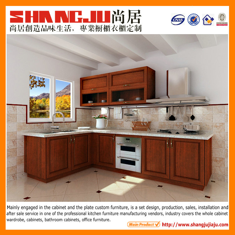 China cheap factory pvc mdf modular kitchen cabinet simple for Cheap kitchen cabinets from china