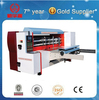 Corrugated cardboard chain feeding four link slot cutting machine/Used carton machinery/Paperboard rotary die cutter machine