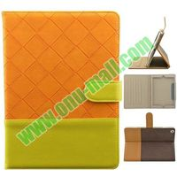 Dual Tone Leather Funky Case for iPad Air