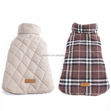 Professional manufacture pet apparel dog clothes winter suitable warm coat