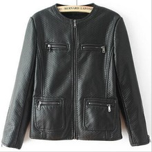 EY0051A 2016 latest Winter and fall Chinese PU women motorcycle wholesale leather jacket for women