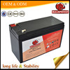 High rate UPS battery 12v 7ah (Model BPH12-7), Volta small rechargeable 12V battery for ups China manufacturer