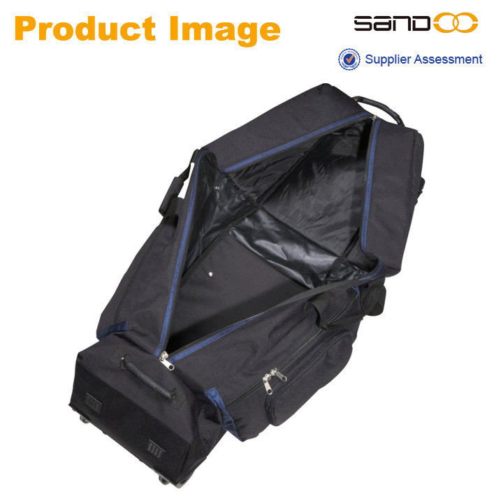 2014 New design wal-mart audit factory Golf Bag Travel Cover, golf bag with wheels