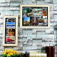 Metal art design Timber Photo Frames,Photo Frame Wooden,School Bus Photo Frame