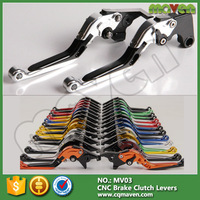 CNC Aluminum Alloy Motorcycle Handle Bars Brake Clutch Levers For Aprilia Tuono V4R R