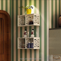 wall mounted floating shelf cubes for wall decoratoin