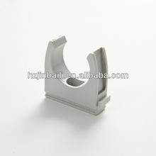 U- tipo de pinzas de plástico para tuberías