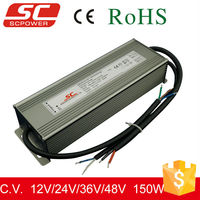 12V 150W dimmable Constant voltage waterproof LED transformer