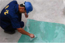Single component polyurethane waterproof membrane for roof