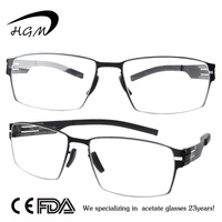 Stainless Steel Glass Frame With Special Hinge Frame Glasses For Eyewear