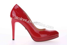 sexy office ladies pump /genuine leather ladies shoes/wedding shoes/genuine leather women dress shoes