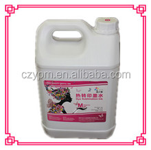 Made in China water base print ink for wood
