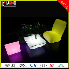 Bar Party Used Glowing Loung Furniture/LED Colors Changing Furniture in Wholesale