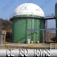 China Manufactuer Container, Biogas Balloon Mounted On Fermentation Fank