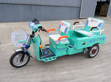 China Hot Sale 3 Wheel Passenger and Cargo Double Use Electric trike