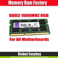 Aliababa stock price ETT chips ddr3 8gb 1600mhz memory
