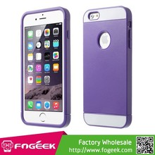 Detachable PC + TPU Combo Case for iPhone 6 4.7inch