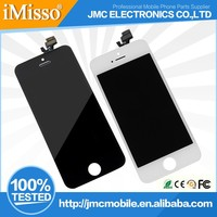 2015 Original Mobile Phone Parts LCD Display Touch Screen Digitizer for iPhone 5 Replacement LCD Screen