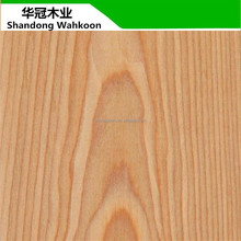 Engineered wood veneer door skin