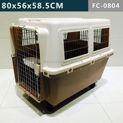 Pet Cage with Plastic, large animals to 88 pounds (40 kgs)