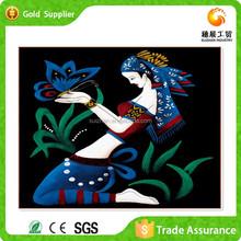 Room wall decor art diy diamond mosaic romantic woman nude canvas oil painting