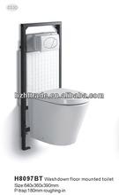 HTWT-0330 european standard sanitary ware wall mounted toilet water tank
