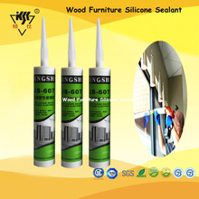 High Displacement Capacity Wood Furniture Silicone Sealant/Fiberglass Adhesive