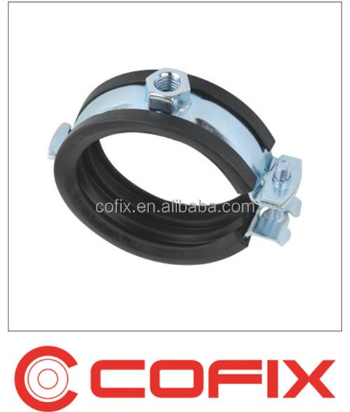Single screw pipe clamp with epdm rubber buy