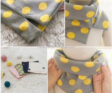 S62225A Korean style lovely winter warm fashion baby scarf kids infinity scarf