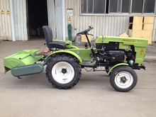 Small/Mini Tractors used for Garden fitted with kinds of implements
