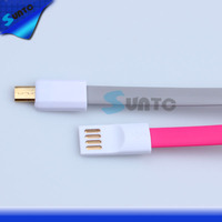 New 20cm Magnetic USB Data Charger Cable for Samsung Galaxy S2 S3 S4 I9500