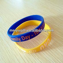 custom silicone bracelets Events Celebration,Brand Promotion