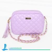 Fashion and good quality PU leather handbag shoulder bag