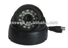 """Teswell jpeg image 1/4"""" CMOS RS232 Port 420TVLCar dvr camara"""