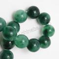 Pierres précieuses en gros jade vert perles perles de jade pour la fabrication de bijoux