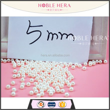 Wholesale 5mm jewelry beads abs pearl