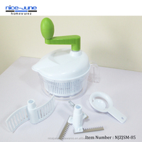 Multi Function Hand Food Processor With Blender, Slicer and Chopper