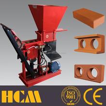 ECO Brava soil cement or clay interlocking block machine in Kenya
