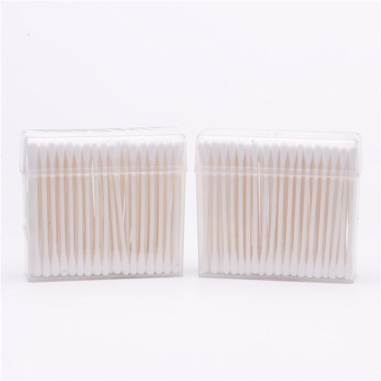 100 pcs Einweg Umweltfreundliche Gesunde medizinische baumwolle tupfer papier stick mit paper stem