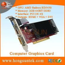 ATI Radeon HD5450 2GB DDR3 PCI Graphic card