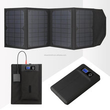 High quality 20W foldable Solar panel charger,Portable solar power bank for laptop