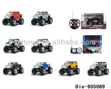 1:43 scale mini rc racing toys car 4 channel alloy remote control mini car toys